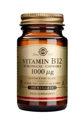 Solgar Vitamin B12 1000 mcg x 100 nuggets