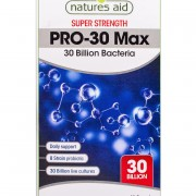 PRO-30 Max (30 Biilion Daily Probiotic) 30vcaps (Natures-Aid) 1