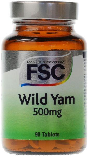 Wild Yam Tablets