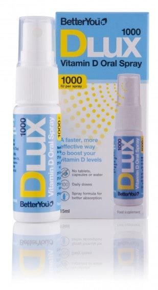 DLux 1000iu Vitamin D Oral Spray