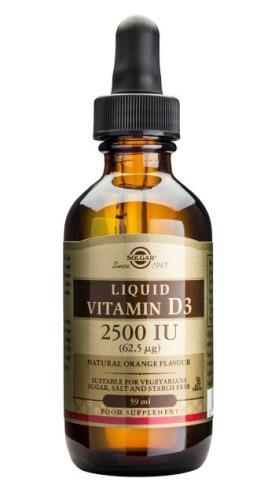 Solgar Liquid Vitamin D3 2500 IU