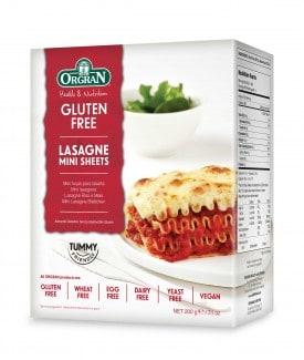 Orgran Gluten Free Lasagne Mini Sheets 200g