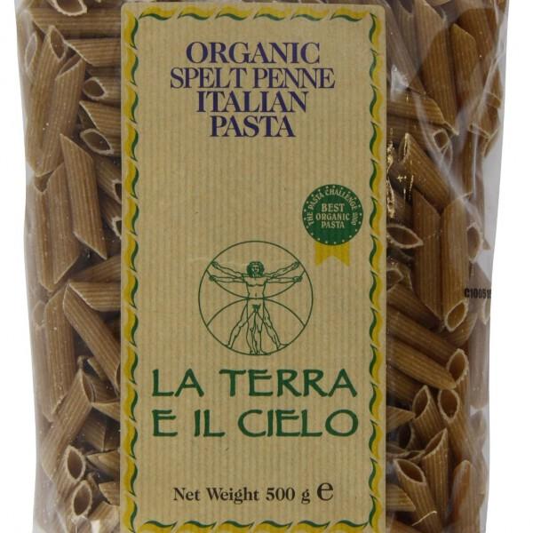 La Terro E Il Cielo Organic Spelt Cavatappi Pasta 500g