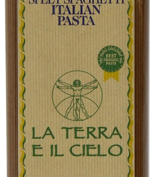 La Terro E Il Cielo Organic Spelt Spaghetti 500g