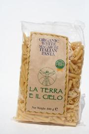La Terro E Il Cielo Organic White Macaroni Pasta 500g