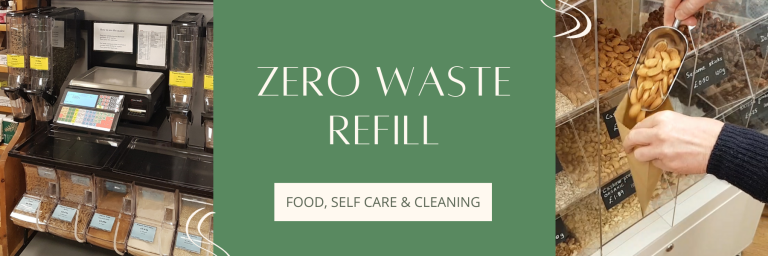 Zero waste refill | The Ark | Haverfordwest | Pembrokeshire