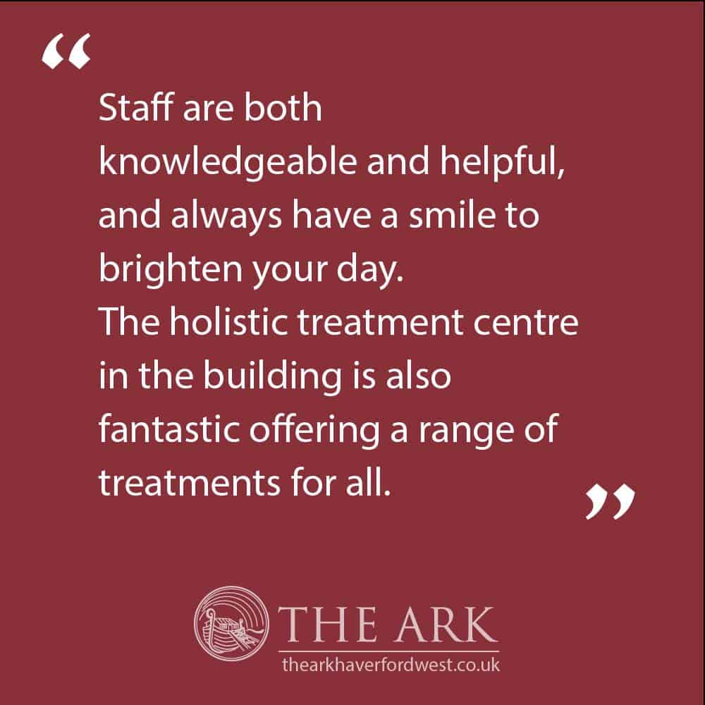 Customer Reviews - The Ark health food shop and clinic